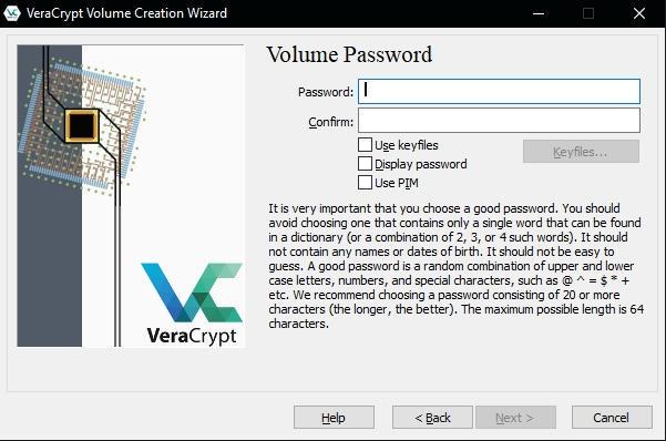 как зашифровать файлы и скрыть их паролем - VeraCrypt инструкция - скриншот 8