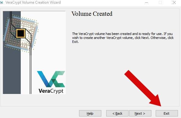 как зашифровать файлы и скрыть их паролем - VeraCrypt инструкция - скриншот 11