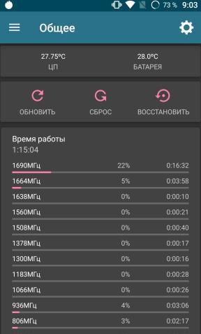 обзор Vernee Pro - тестирование производительности - аудит - скриншот 1