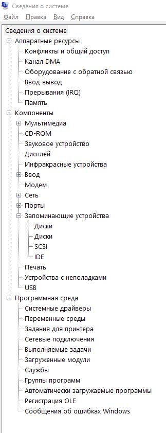 сведения о компьютере - вызов msinfo32 - скриншот 2