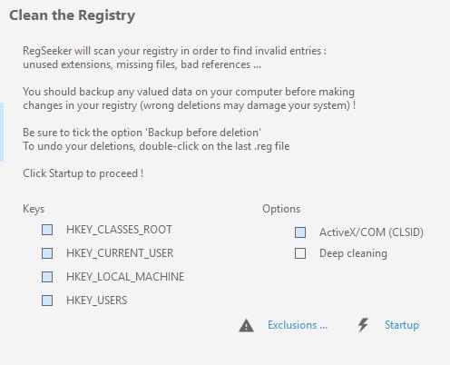 обзор regseeker - как использовать и очистить реестр - скриншот 6