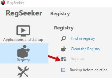 обзор regseeker - как использовать и очистить реестр - скриншот 11