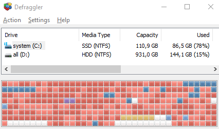 Размер кластера и дисковое пространство - скриншот 3