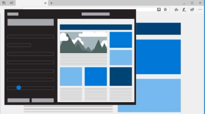 MicrosoftEdge обзор новшеств, возможностей и функционала - скриншот 5