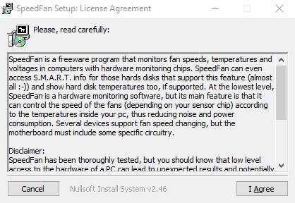 speedfan установка и запуск для управления кулерами (вентиляторами) компьютера - скриншот 1
