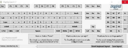 заменить или отключить кнопку на клавиатуре - скриншот 1
