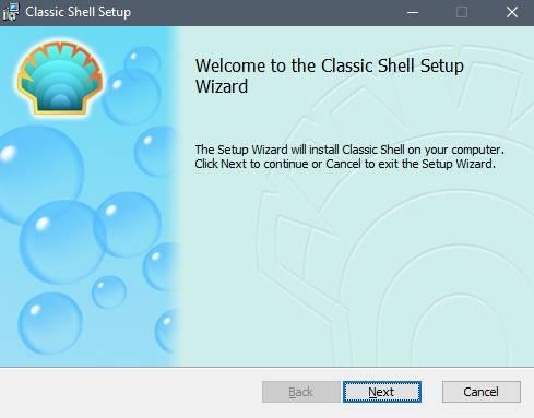 """настройки меню """"Пуск"""" в Windows 7/8 или 10 - программа Classic Shell - скриншот 7 - установка"""