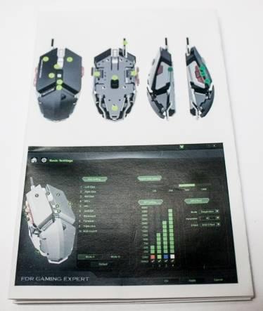 обзор LUOM G50 Programmable 10 Button Professional Mechanical Gaming Mouse - unboxing (распаковка) - фото 8 - инструкция к устройству