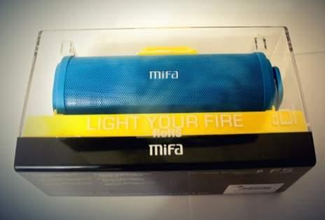 обзор MIFA F5 - unboxing (распаковка) - фото 1