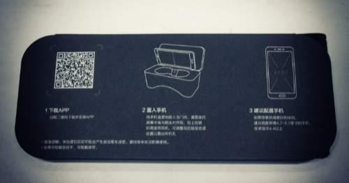 обзор Xiaomi VR Virtual Reality 3D Glasses - unboxing (распаковка) - фото 6