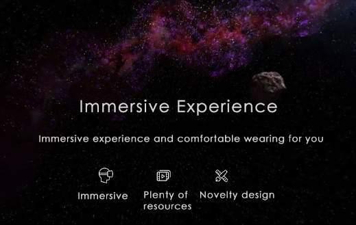 обзор Xiaomi VR Virtual Reality 3D Glasses - космос - скриншот 7