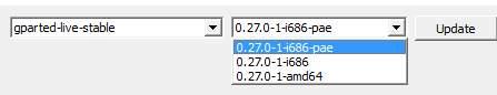 разбить диск на разделы GParted - скриншот 4