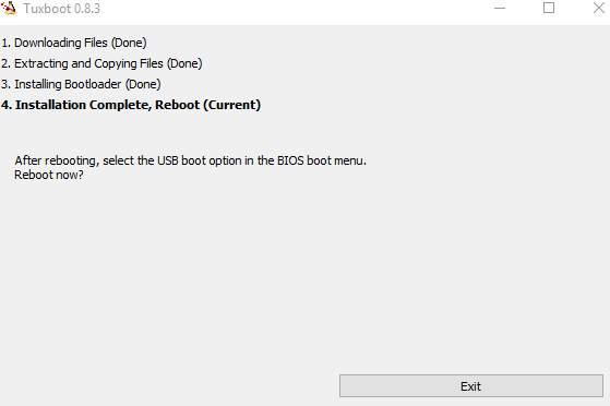 разбить диск на разделы GParted - скриншот 7