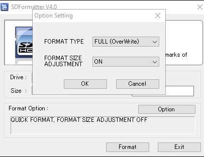 как восстановить размер SD-карты и отформатировать её размер - скриншот 2