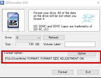 как восстановить размер SD-карты и отформатировать её размер - скриншот 3