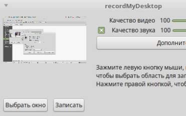 захват видео на linux mint - скриншот 3
