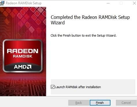 диск в оперативной памяти Windows - запуск - скриншот 3