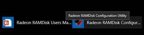 диск в оперативной памяти Windows - запуск программы - скриншот 4