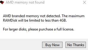 диск в оперативной памяти Windows - лицензия - скриншот 5