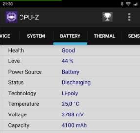 CPU-Z Redmi 4 Prime - скриншот 4