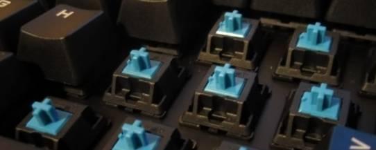 выбор клавиатуры - механический вариант