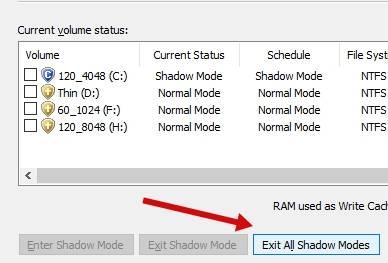 обзор Shadow Defender - защита компьютера - проверка работы - скриншот 3