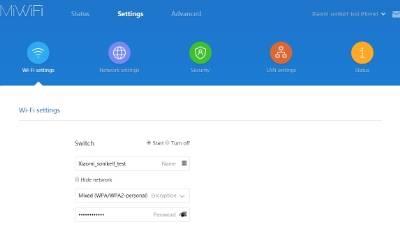 обзор Xiaomi Mi WiFi Router 3 - веб-интерфейс прошивки, английский язык - скриншот 4