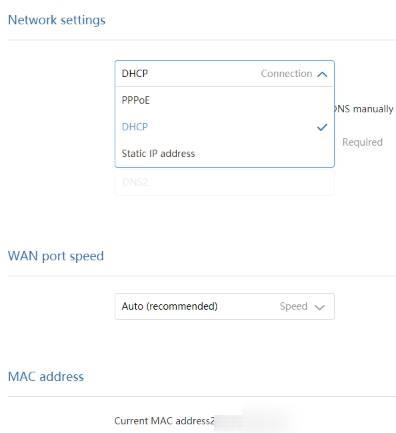 обзор Xiaomi Mi WiFi Router 3 - веб-интерфейс прошивки, английский язык - скриншот 6