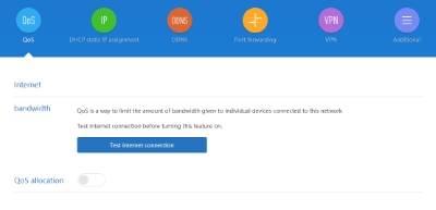 обзор Xiaomi Mi WiFi Router 3 - веб-интерфейс прошивки, английский язык - скриншот 9