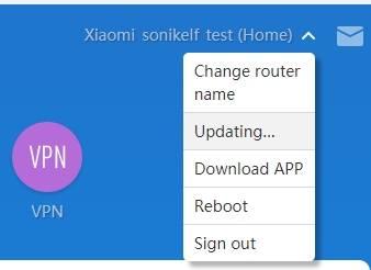 обзор Xiaomi Mi WiFi Router 3 - веб-интерфейс прошивки, английский язык - скриншот 10