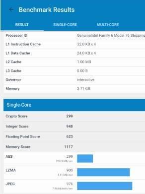 обзор Onda oBook 20 Plus - тестирование производительности - бенчмарк - скриншот 5