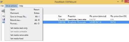 команды Drive Actions в OSFMount - скриншот 4