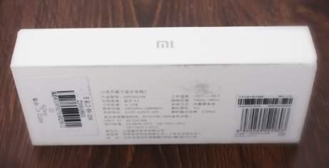 Обзор Xiaomi Mi Bluetooth Speaker - распаковка (unboxing) - фотография 2