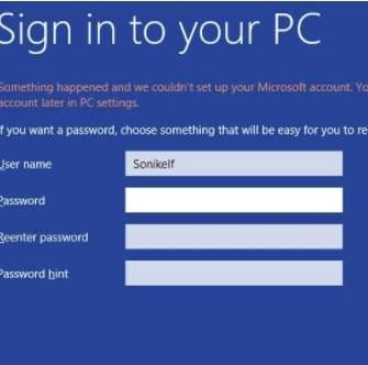 Как установить Windows 8 - скриншот 18 - первый вход в систему