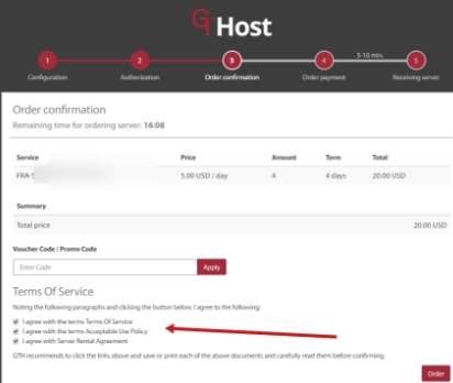 обзор GTHost - правила и политика - скриншот 10