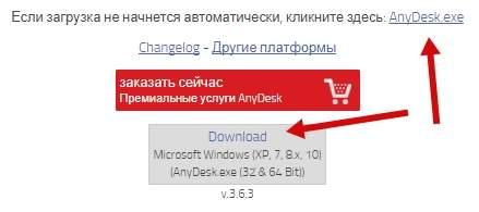 Удалённый доступ - обзор Anydesk - загрузка - скриншот 1