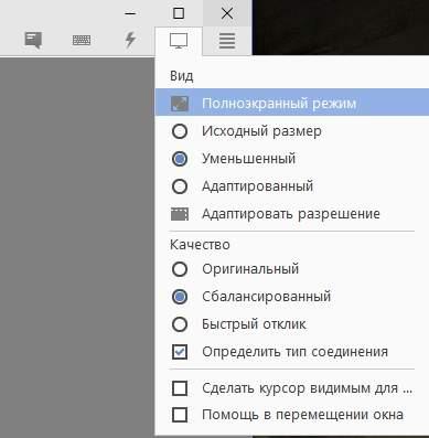 Удалённый доступ - обзор Anydesk - элементы управления - скриншот 13
