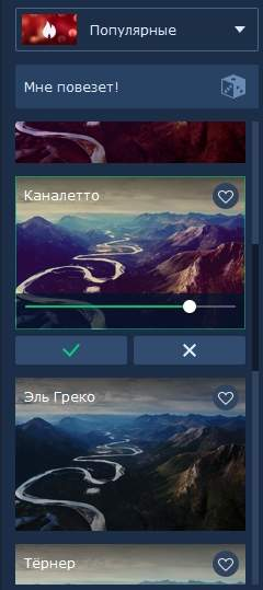 обзор Movavi Фоторедактор - инструменты для обработки фотографии - скриншот 19
