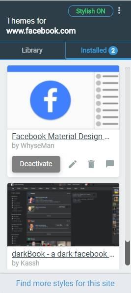 обзор расширения Slylish - настройка и использование - скриншот 4