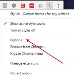 обзор расширения Slylish - настройка и использование - скриншот 9