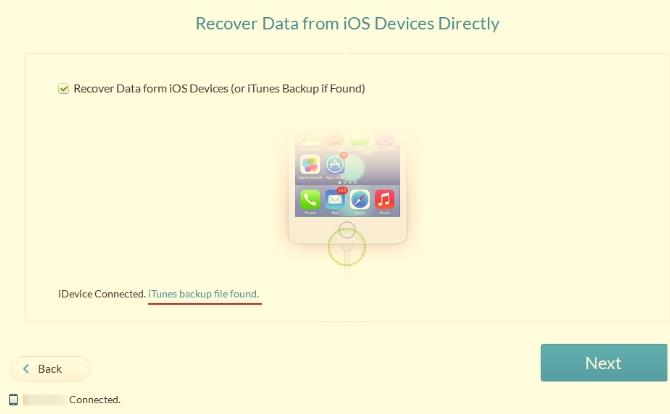 Восстановление данных с Вашего смартфона - iPhone Gihosoft Data Recovery - использование - скриншот 11