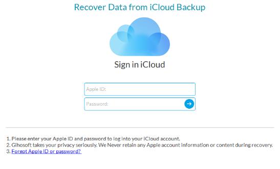 Восстановление данных с Вашего смартфона - iPhone Gihosoft Data Recovery - использование - скриншот 13