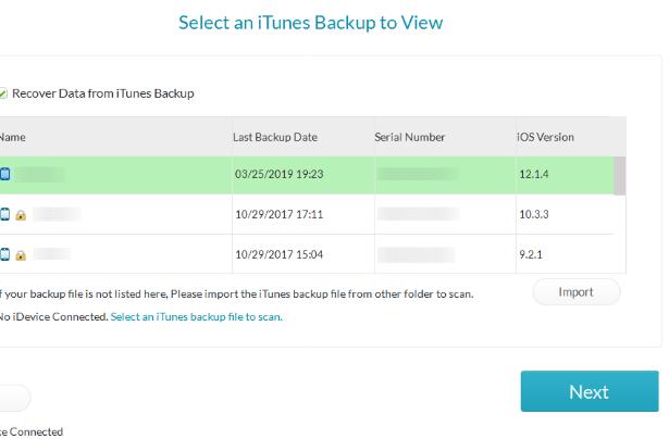 Восстановление данных с Вашего смартфона - iPhone Gihosoft Data Recovery - использование - скриншот 14