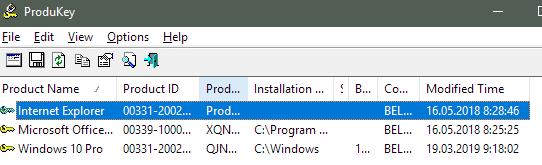 как получить и узнать ключ из Windows - скриншот 3