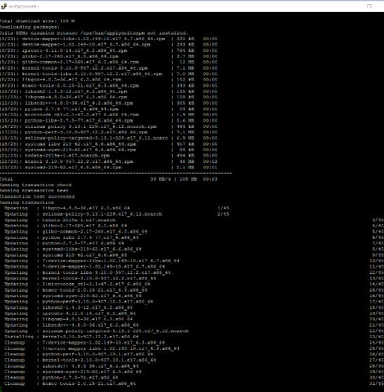 Собираем LNMP на основе linux centOS 7 и консоли в зубах - скриншот 4 - putty
