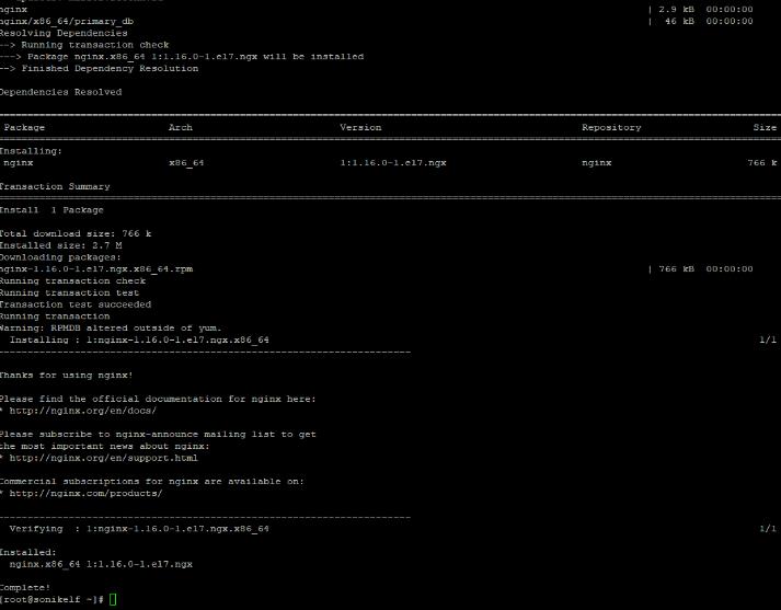 Собираем LNMP на основе linux centOS 7 и консоли в зубах - скриншот 5 - putty