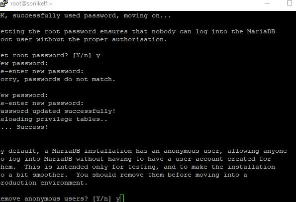 Собираем LNMP на основе linux centOS 7 и консоли в зубах - скриншот 10 - putty