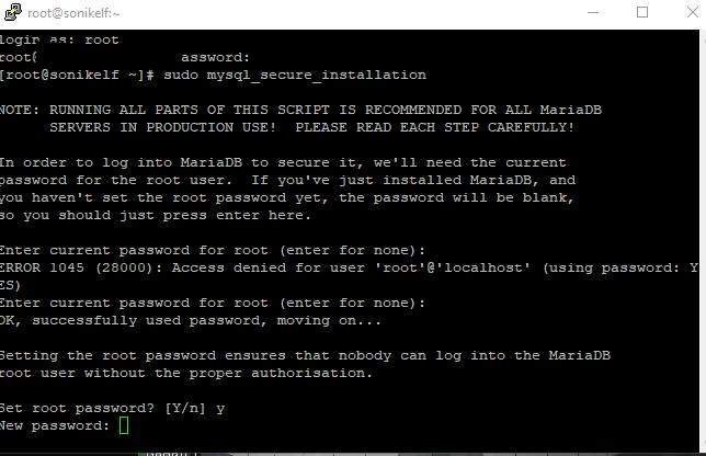Собираем LNMP на основе linux centOS 7 и консоли в зубах - скриншот 9 - putty