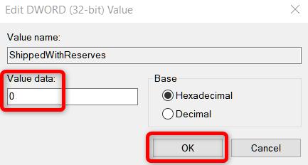 Как отключить «зарезервированное хранилище» в Windows 10 1903 и старше - скриншот 7