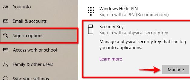 Как удалить свой ПИН-код и другие параметры входа из Windows 10 - скриншот 11